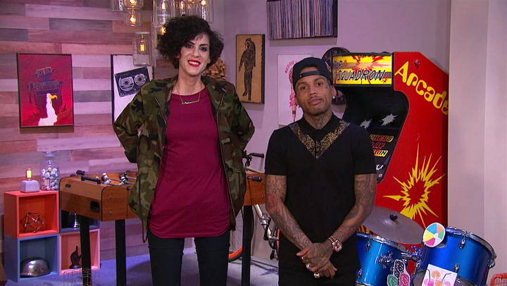 Marcella Arguello and Kid Ink List Members of The Avengers: Trivial Takedown PreGame