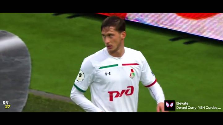 Así juega Alekxey Miranchuk, jugador del Lokomotiv Moscú
