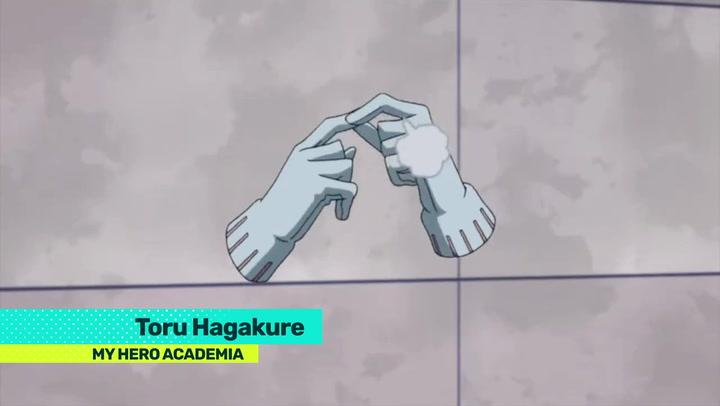 My Hero Academia Profile Toru Hagakure