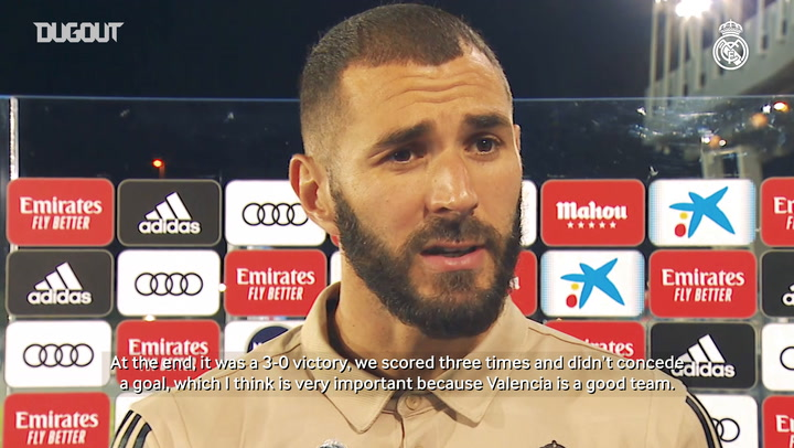 Benzema: 'I will always be happy to play for this club'
