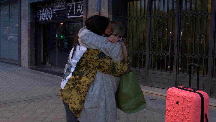 El apoyo incondicional de Rocío Flores a Olga Moreno en su estreno en \'Supervivientes\'