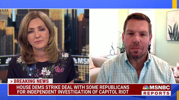 Swalwell on Confrontation With Greene Aide Over Masks: I've 'Had Enough With These Marauding Goons'