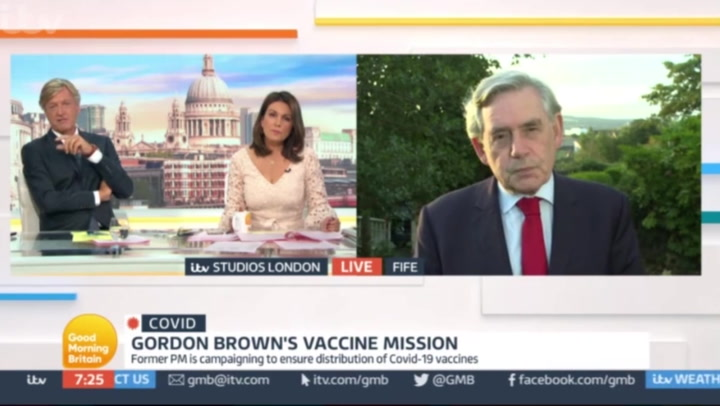 Richard Madeley refers to Africa as country in GMB gaffe