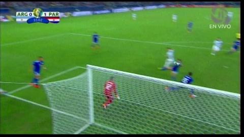 El primer gol de Messi en la Copa América gracias al VAR