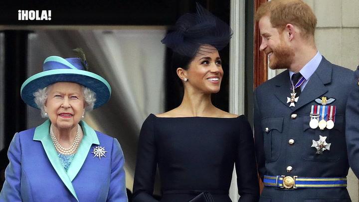 La reina Isabel II envía un comunicado apoyando a los duques de Sussex tras la reunión