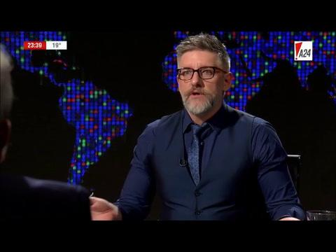 Aníbal Fernández, confiado: Cristina gana contra quien quiera