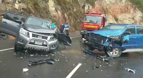 Se registra fatal accidente de tránsito en la cuesta La Pirámide, Comayagua