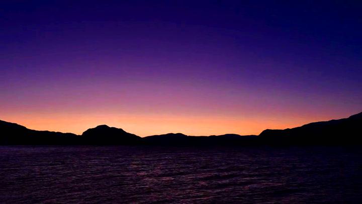 Så mystisk har du neppe sett Hardangerfjorden før