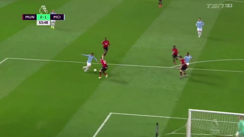 Manchester United 0 - 2 Manchester City