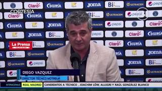 Diego Vázquez le responde a Pedro Troglio y lo llama cara dura