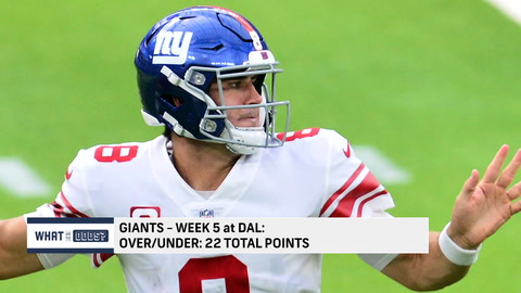 What are the Odds: Can the Giants score over 22 points against the Cowboys?