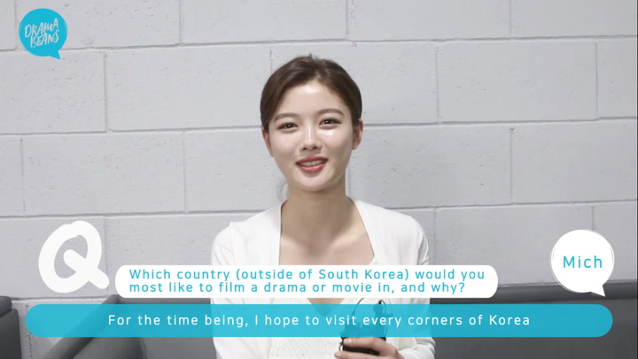 [Ask an Actor] Kim Yoo-jung on characters, shooting locations, and her favorite K-drama