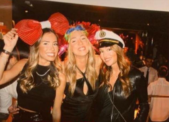 Morata acompañó a su mujer Alice Campello durante su fiesta de cumpleaños