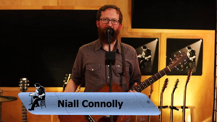 Niall Connolly performs Open Your Eyes on The Jimmy Lloyd Songwriter Showcase