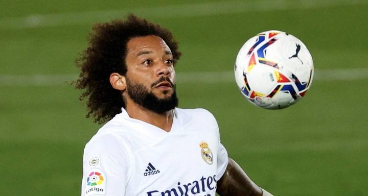 Así son los números de Marcelo con el Real Madrid