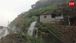 Cae tormenta en la capital de Honduras