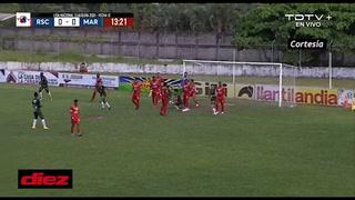 Marathón se pone a ganar en Tocoa ante Real Sociedad con un polémico gol de José Lobo