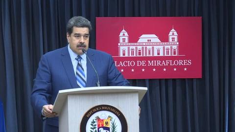 Maduro vincula a Brasil con supuesto plan de EEUU en su contra