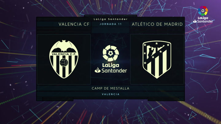 LaLiga Santander (Jornada 11): Valencia 0-1 Atlético de Madrid