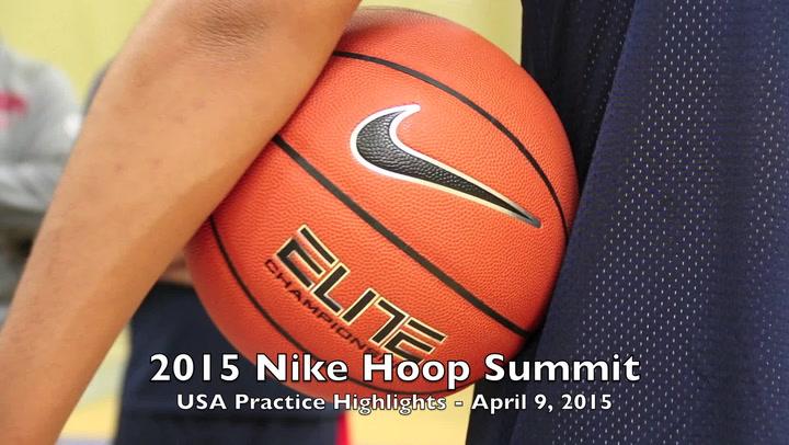 April 9 Nike Hoop Summit Practice