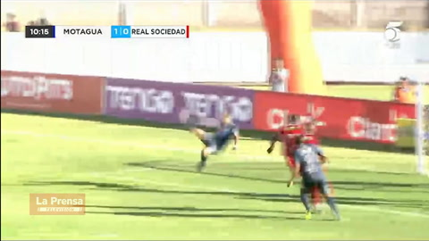 Motagua 2-0 Real Sociedad (Liga Nacional)