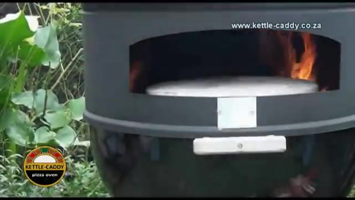Preview image of Kettle-caddy Pizza Oven video