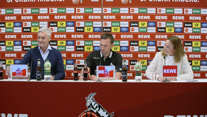 Pressekonferenz mit André Pawlak und Armin Veh