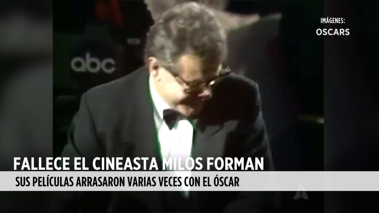 Fallece Milos Forman