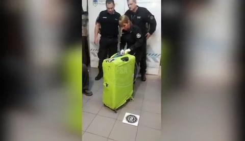 Un turista brasileño fue detenido en Ezeiza con 15 kilos de cocaína