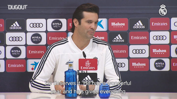 Solari: We need every player at its best