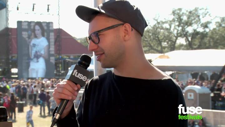 Interviews: Bleachers at Voodoo 2014