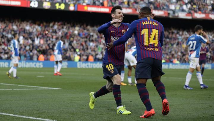 LaLiga: Resumen y Goles del Partido Barça (2) - (0) Espanyol del 30/03/2019 | Vídeo