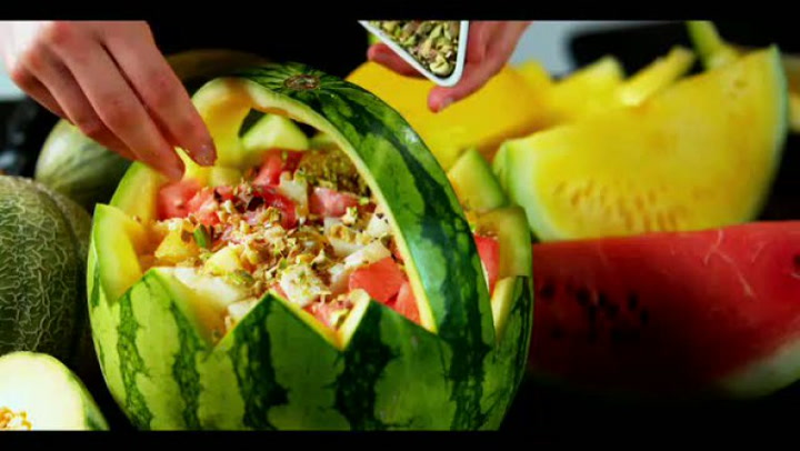 Hvordan lage melonsalat