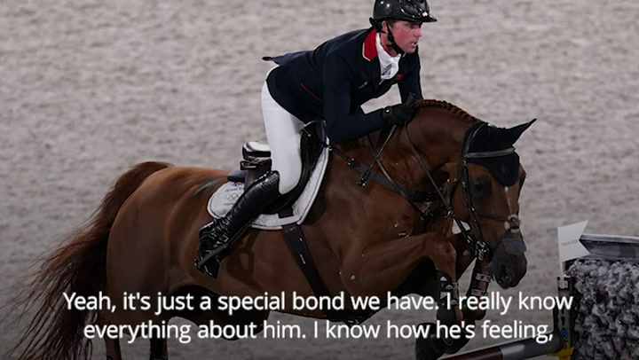Team GB's Ben Maher praises 'phenomenal' Explosion W after winning Olympic gold