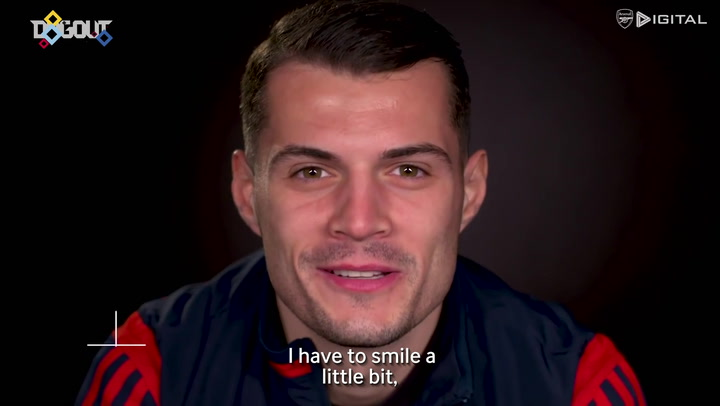 Granit Xhaka: 'I am very, very happy to be back'