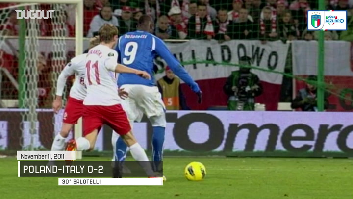 Five of Italy's memorable goals vs Poland