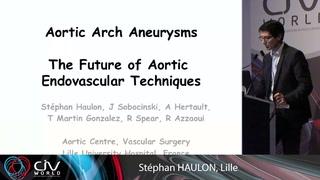 Endoprothèses branchées de la crosse aortique