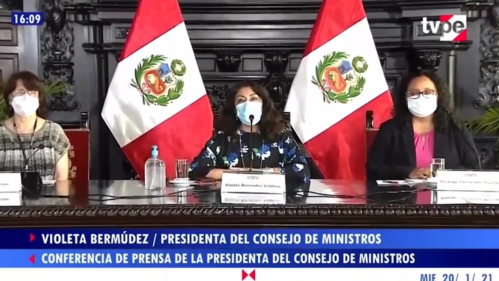 """Violeta Bermúdez descarta la posibilidad de un nuevo confinamiento: """"No ha sido considerado"""""""
