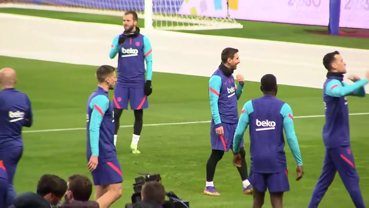 El Barça ya prepara la final en la Cartuja