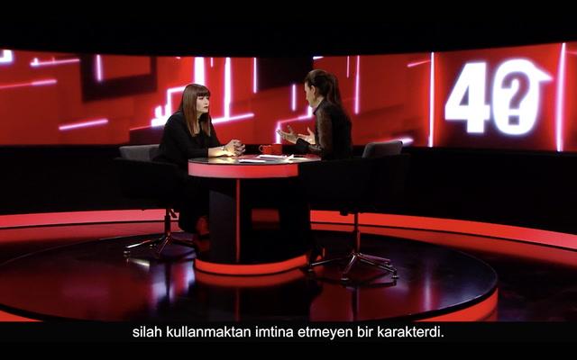 Jülide Ateş ile 40 - Deniz Çakır dizilerdeki şiddeti eleştirirken samimi mi?