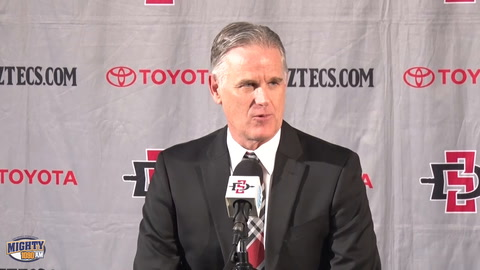 Brian Dutcher Gets First Win As HC, Aztecs 91 - SD Christian 52