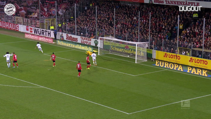 Serge Gnabry's strike secures victory against SC Freiburg