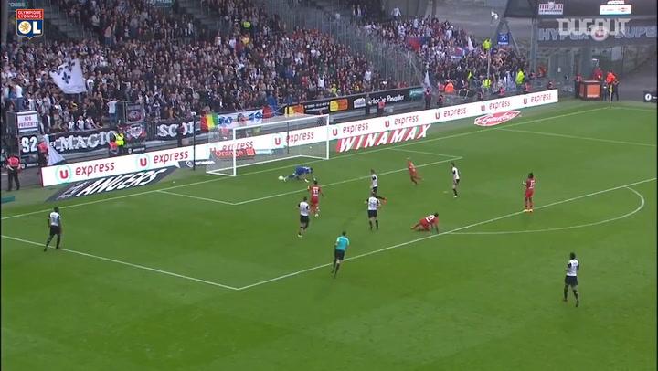 All Memphis Depay's goals vs Angers