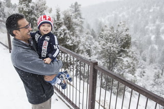 Mount Charleston Gets Heavy Snow, Fog