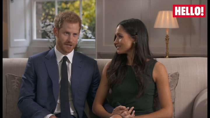 How did Prince Harry propose?