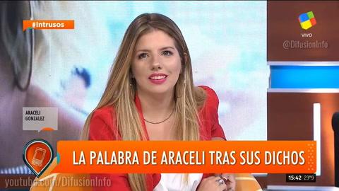 La emotiva confesión de Araceli González sobre el debate feminista