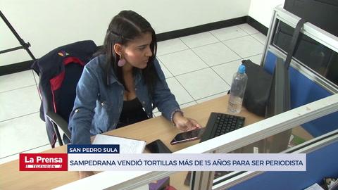 Universitaria pasó de vender tortillas en Guamilito a destacar como periodista