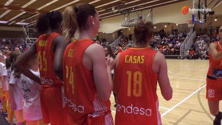 Baloncesto femenino: España-Bélgica