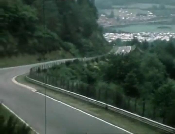 Imágenes originales del grave accidente de Niki Lauda en Nurburgring en 1976