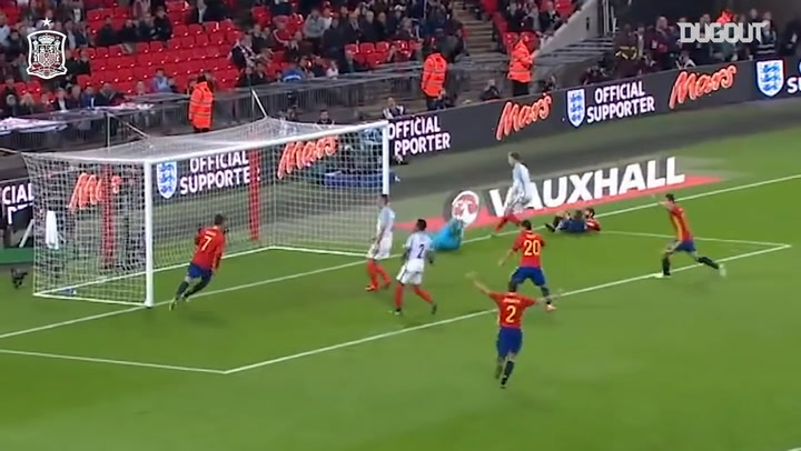 Isco's late equaliser at Wembley